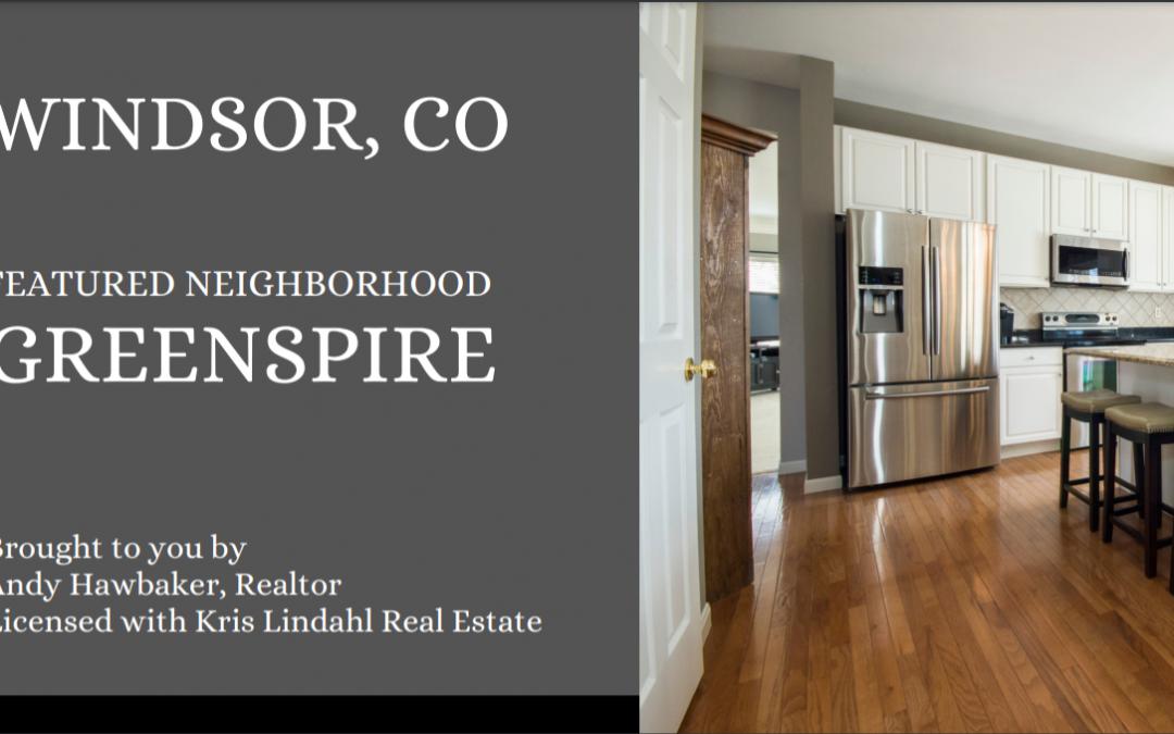 Windsor Colorado Real Estate Update